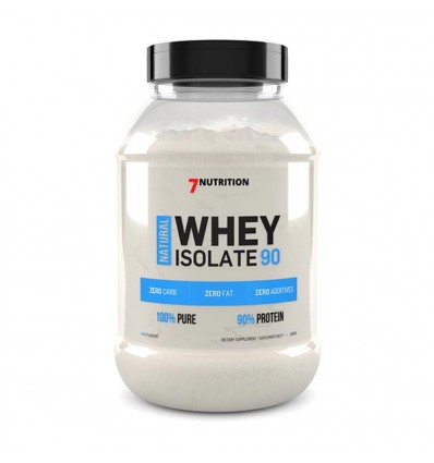7NUTRITION Natural Whey Isolate 90 2000g
