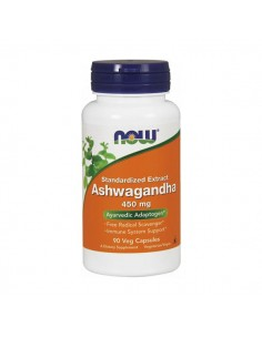 NOW FOODS Ashwagandha Extract 450mg 90kap