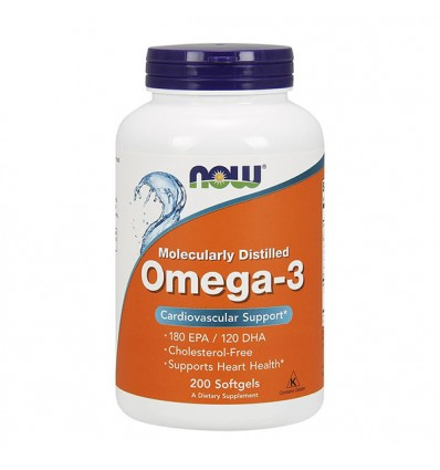 NOW FOODS Omega-3 200 softgels
