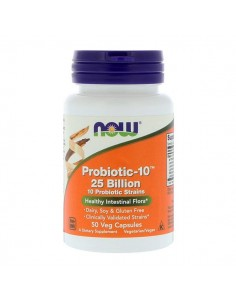 NOW FOODS Probiotic-10 25 Billion 50kap