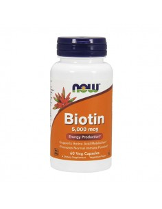 NOW FOODS Biotin 5000mcg...