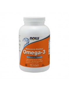 NOW FOODS Omega-3 500 softgels