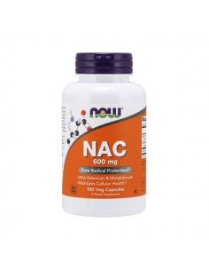 NOW FOODS NAC 600mg 100vegcap