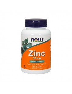NOW FOODS ZINC 250 tab