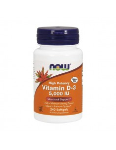 NOW FOODS Vitamin D-3 5000...