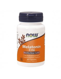 NOW FOODS Melatonin 5mg...