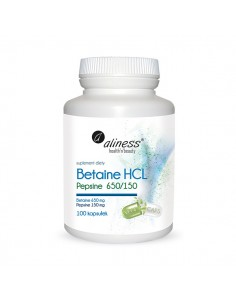 ALINESS Betaine HCL 100 kap