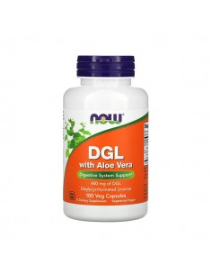 NOW FOODS DGL with Aloe...